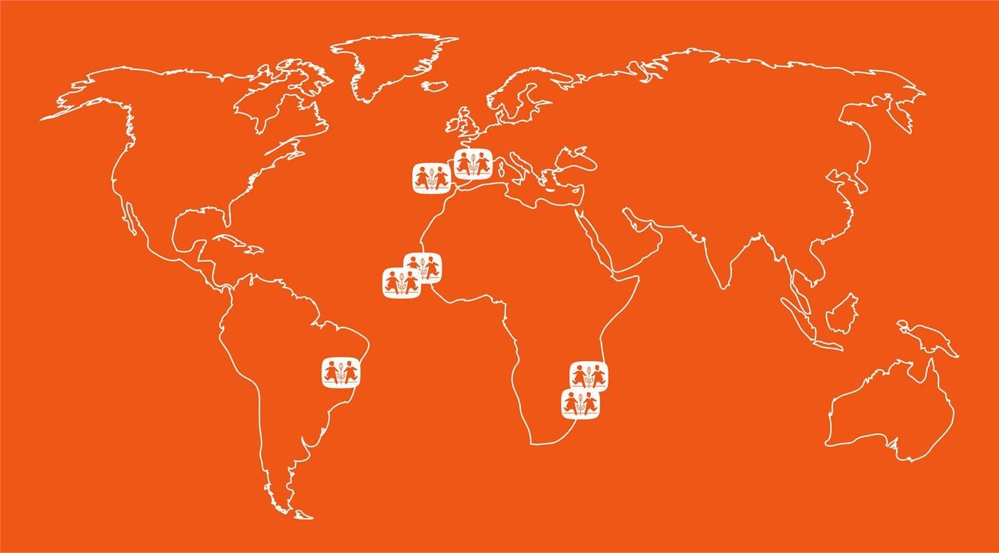 Aldeias de crianças SOS no mundo